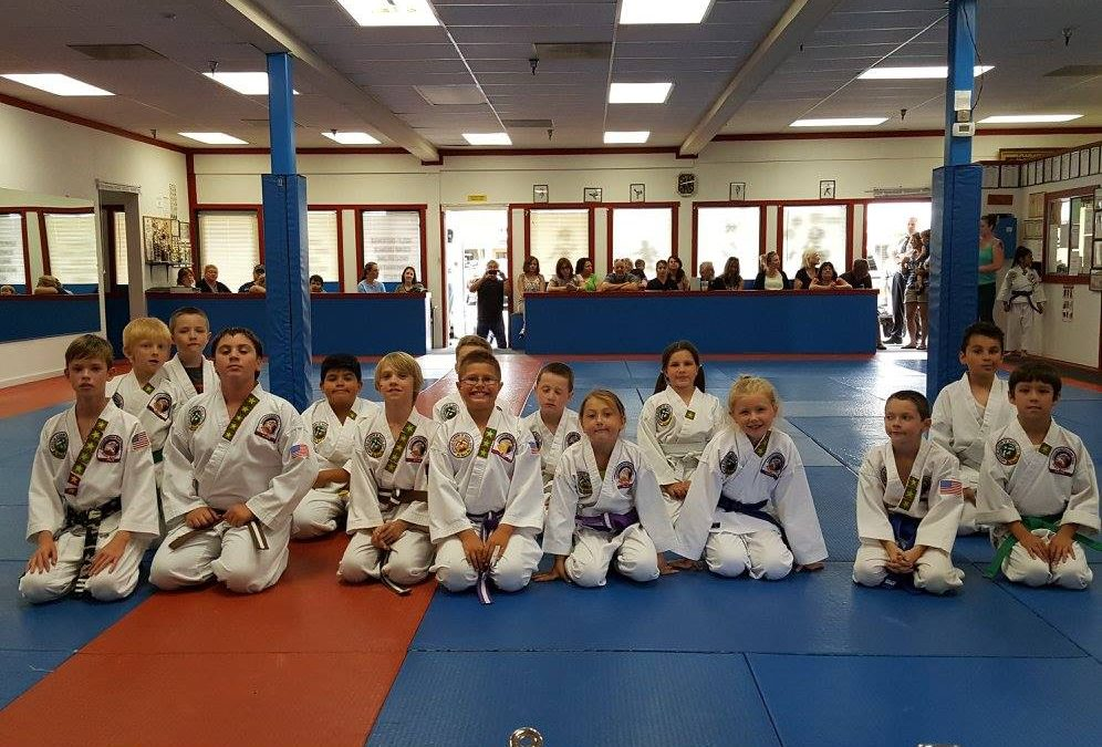 May 2017 Performance Evaluations for Belt Promotions